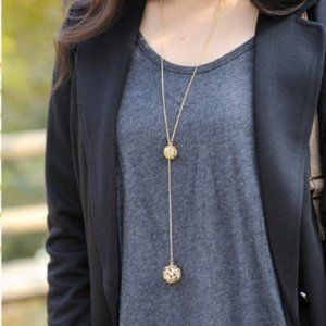 Jewelry - AD Crystal Sphere Necklace